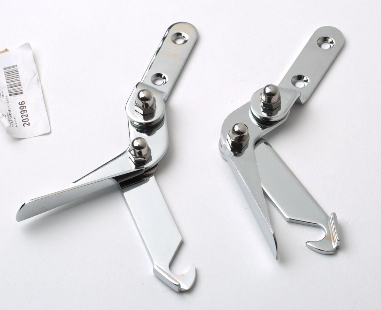 Hood clamps