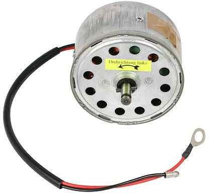 Jaguar Heater motor