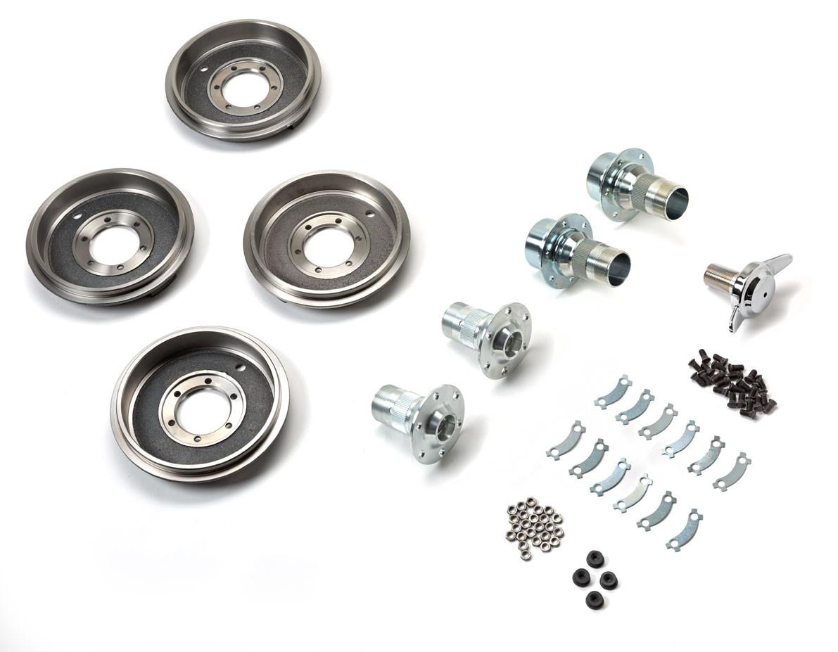 Wire wheel conversion kit