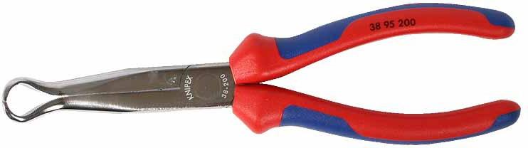 Spark plug socket pulling pliers