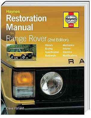 Range Rover Restoration manual