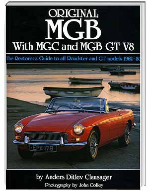 Original MGB, with MGC and MGB GT V8