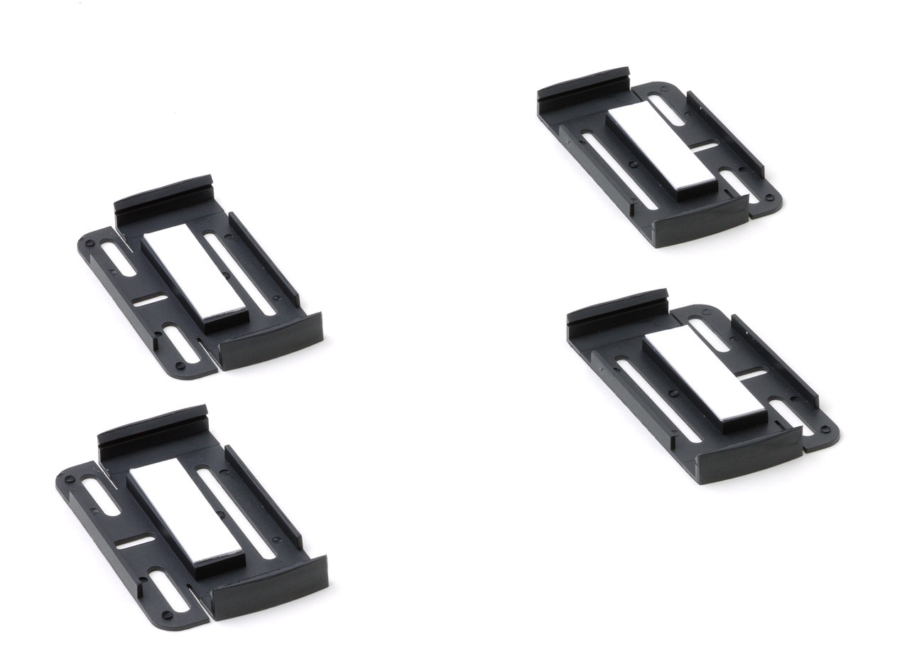 Number plate clips