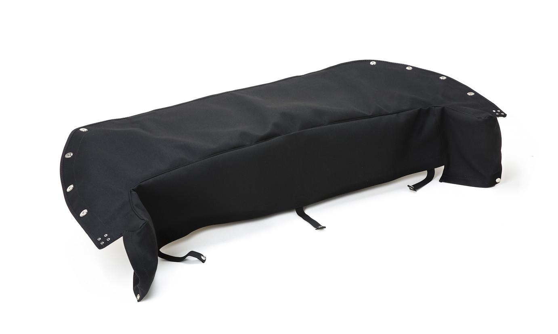 Mohair hood cover