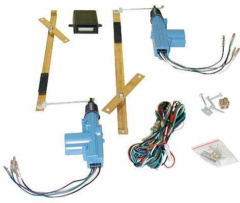 Central locking kit