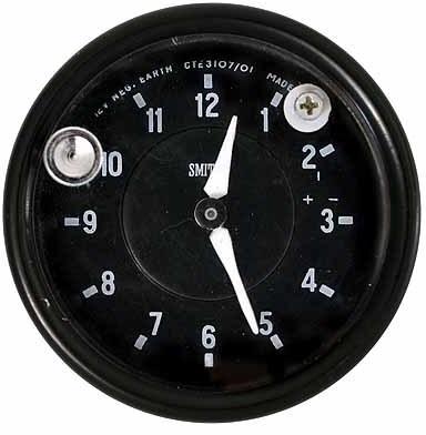 Jaguar Clock