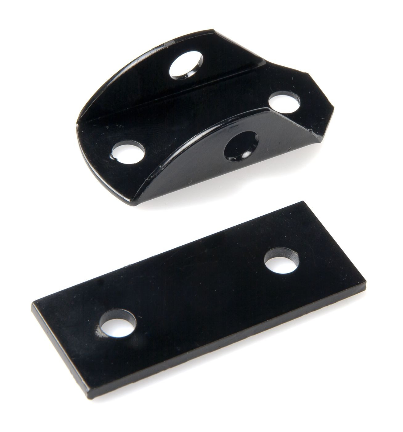 Bracket with plate