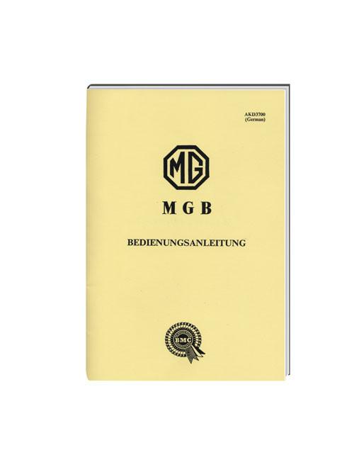 MG Drivers handbook