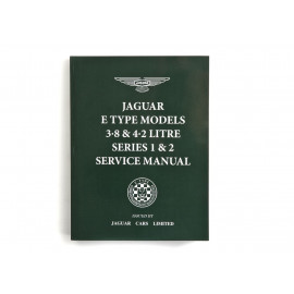 Jaguar E-Type 3.8 & 4.2 Series 1 & 2 Service Manual