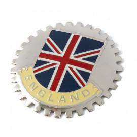 Enameled badge