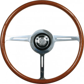 MG Woodrim steering wheel