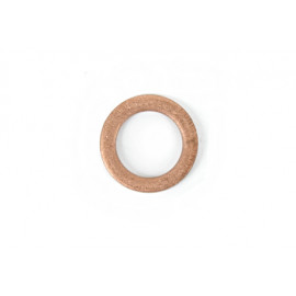Copper crush washer