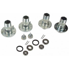 MG Wire wheel conversion kit
