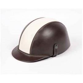 Half shell helmet