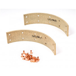 Land Rover Brake lining set