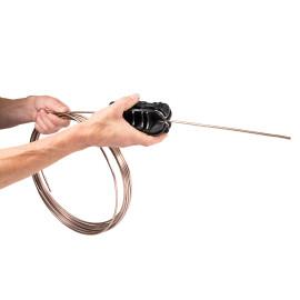 Tube straightener tool