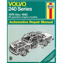 Volvo 240 Series Haynes Repair Manual for 1976 thru 1993 gasoline engine models