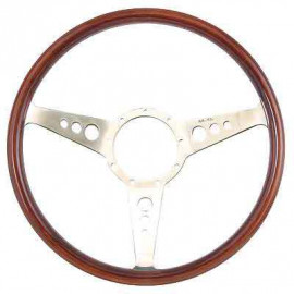 Woodrim steering wheel