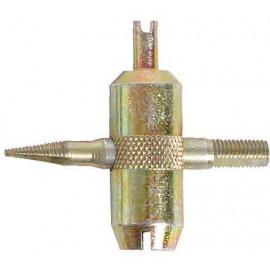Tyre valve tool