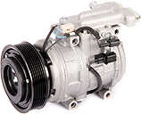 Jaguar Air conditioning compressor