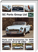 MG Parts catalogue